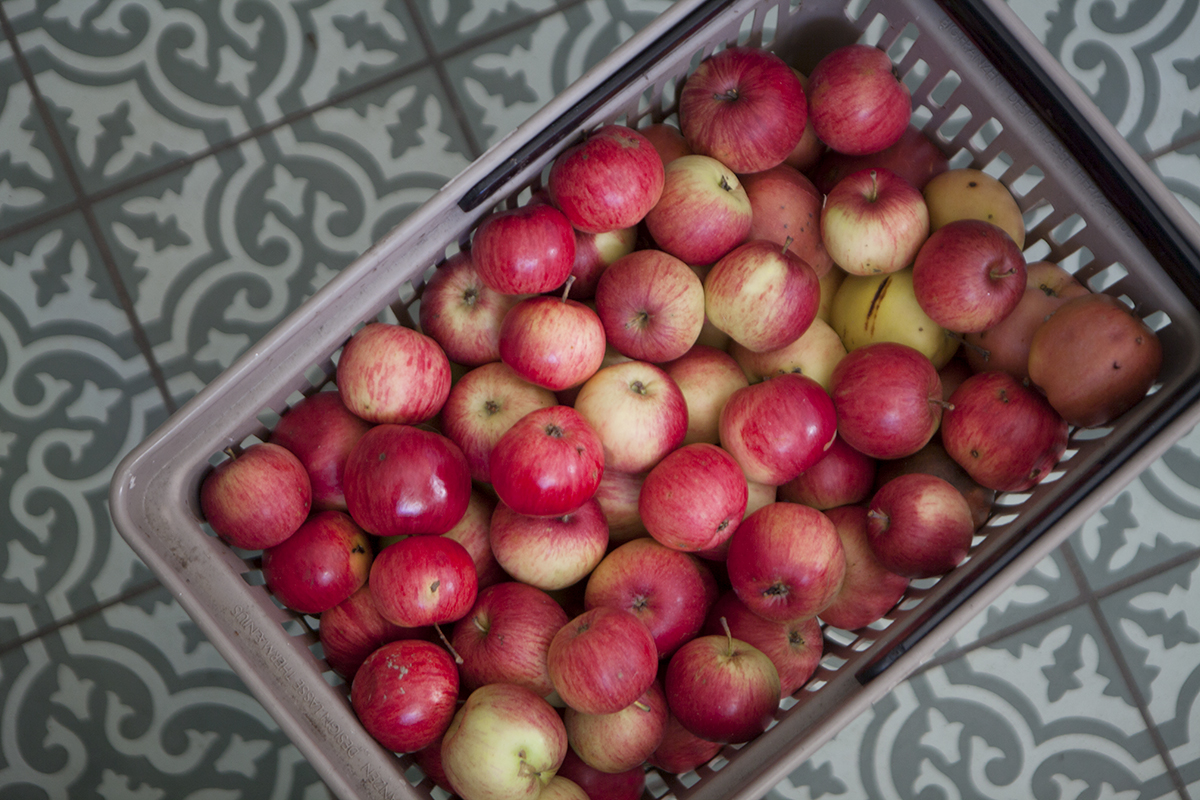 Äppelringar, äppelgodis, äppelsnacks