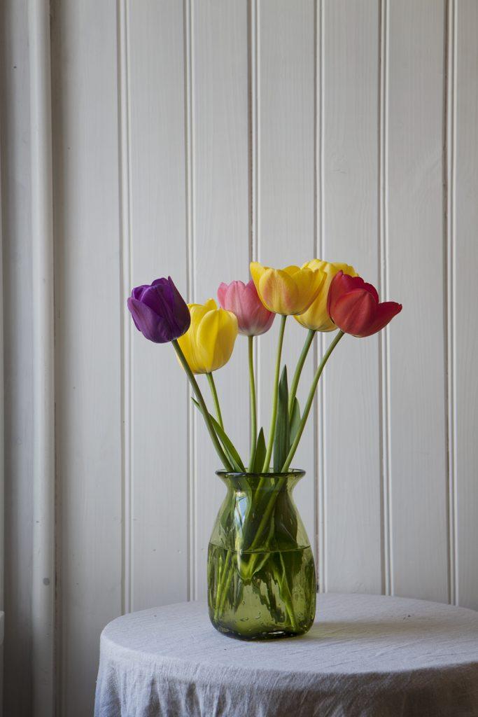 Tulpaner, lökväxter, blommor, fredagsblomma, fredagsbukett, amelieshus