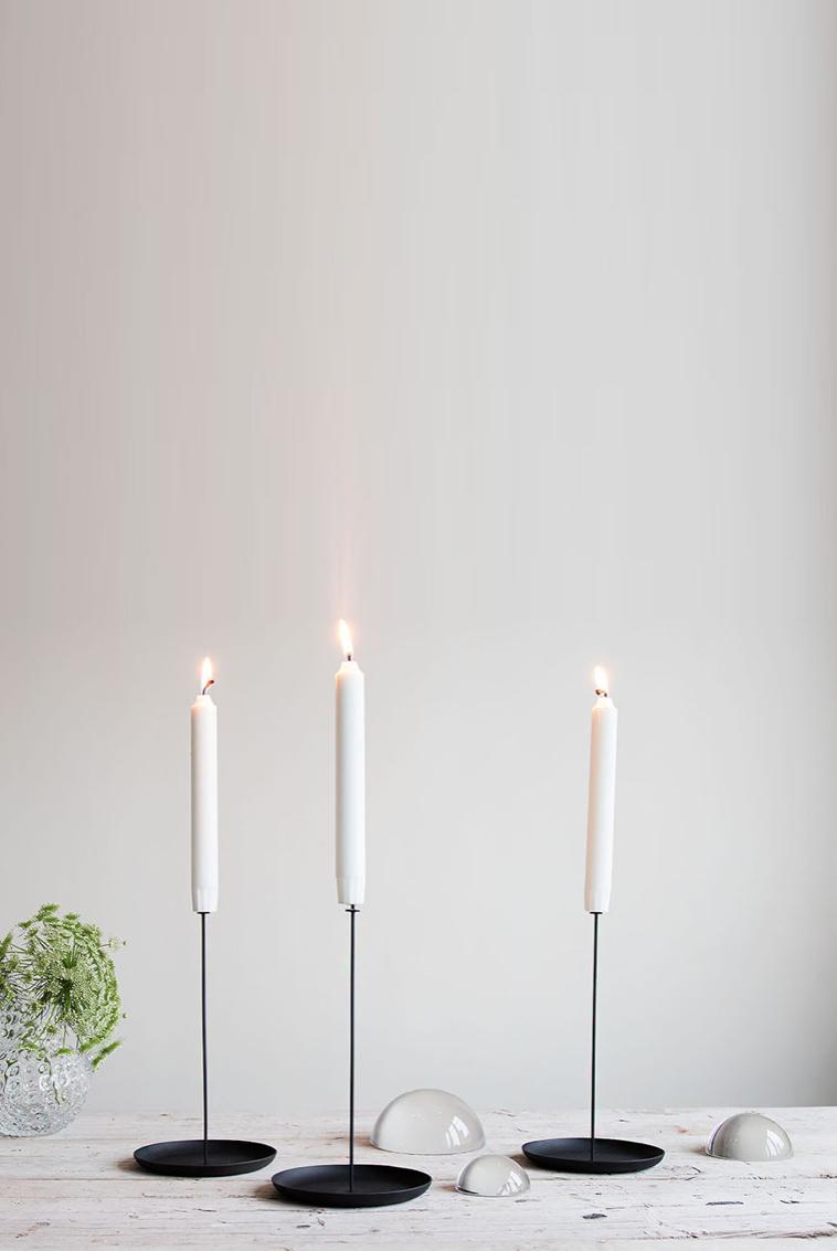Amelie von Essen, Amelies hus, Stumpljusstake, Candle pin Eno studio Ljusstacke